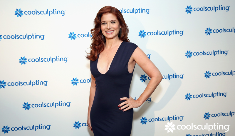Debra Messing does CoolSculpting for non-surgical fat reduction