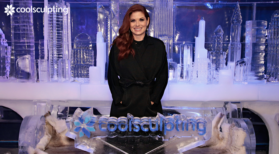 Debra Messing loves her CoolSculpting results