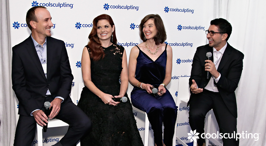 Panel discussing Cyrolipolysis, the technology behind CoolSculpting