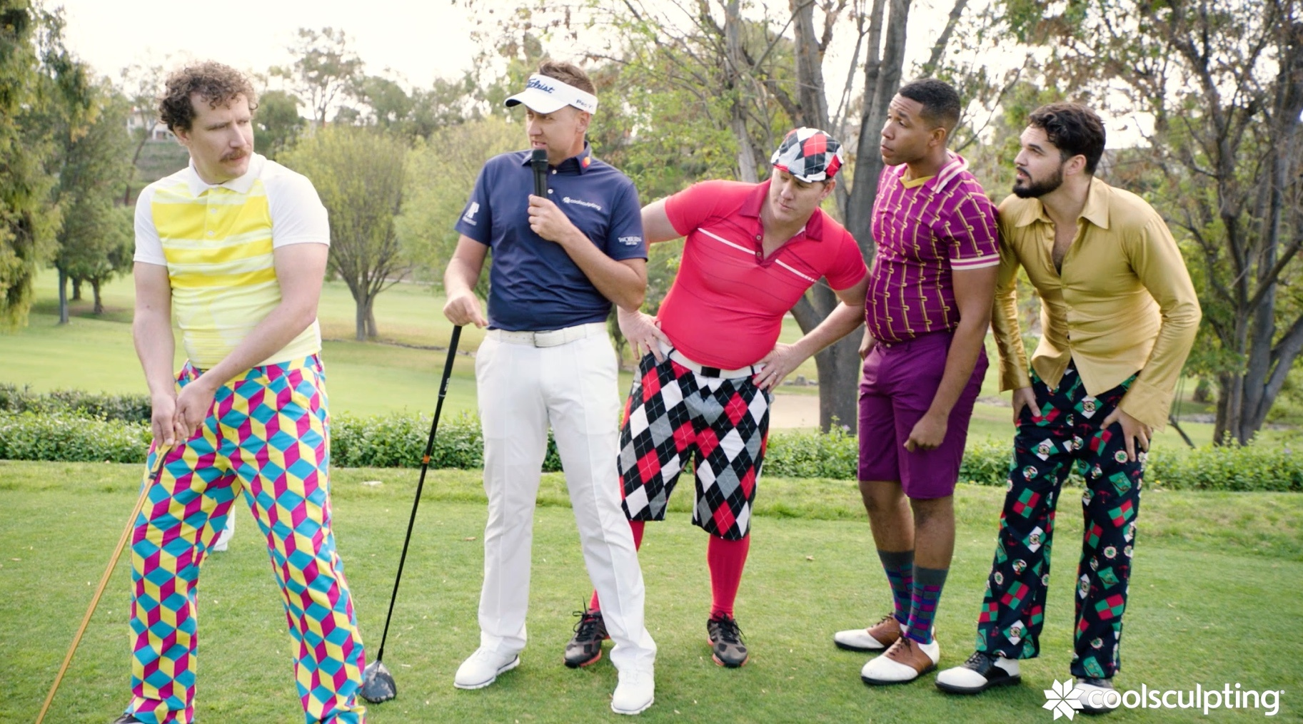Ian Poulter Cool Golf Lesson