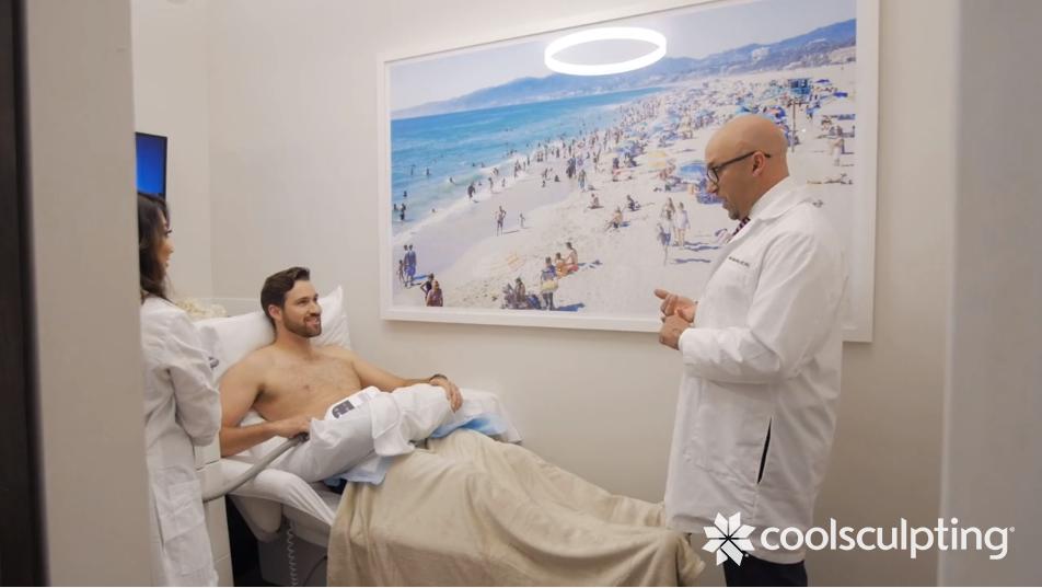 CoolSculpting Male Treatment